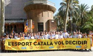La Secretari General de l'Esport participa activament en la celebració de la Diada Nacional de Catalunya