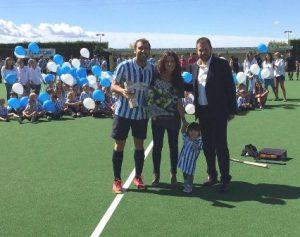 El Club Egara inaugura la gespa dels seus camps i fa un emotiu homenatge a Edi Tubau