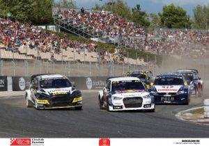 Mattias Ekström s'imposa al BarcelonaRX del Circuit de Barcelona-Catalunya després d'un cap de setmana d'emocions fortes