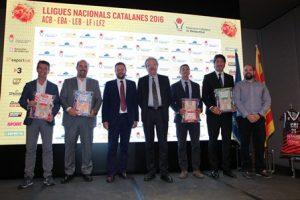 Presentades les Lligues Nacionals Catalanes de bàsquet 2016