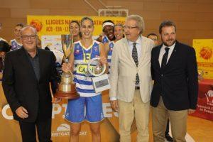 El Cadí La Seu revalida el títol de campió de la Lliga Nacional Catalana Femenina de bàsquet