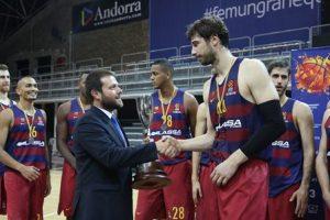 El FC Barcelona Lassa supera l'ICL Manresa i guanya la XXXVII Lliga Nacional Catalana ACB de bàsquet