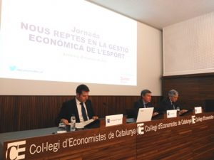 Defenso l'impacte econòmic de l'esport al país en una jornada al Col·legi d'Economistes de Catalunya
