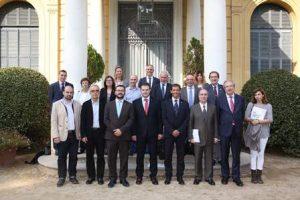 El Palau de Pedralbes acull la reunió de la comissió directiva del Consell Català de l'Esport