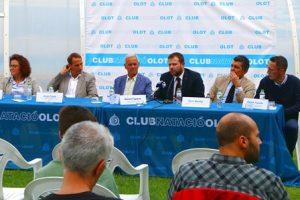 El CN Olot presenta el pla de finançament del projecte de reforma i ampliació integral de les instal·lacions