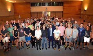 Defenso davant 80 professors d'educació física de Dinamarca el rol clau de l'esport en la construcció nacional
