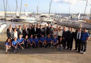 El president de la Generalitat visita el Centre Internacional de Vela de Barcelona