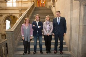 La Secretaria General de l'Esport, l'Ajuntament de Barcelona i la Universitat Abat Oliba donen el tret de sortida als Campionats de Catalunya Universitaris 2017