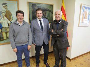 Em reuneixo amb el president del Barcelona Clúster Nàutic