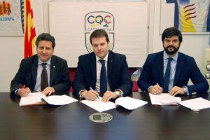 Hem signat l'acord de candidatura única per reactivar el Comitè Olímpic de Catalunya