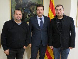 Trobada amb la Federació Catalana de Dards