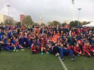 El Dia del Futbol Inclusiu es consolida en la segona edició com una eina d'integració i valors
