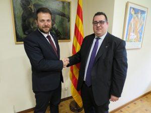 Em reuneixo amb l'Ajuntament de l'Hospitalet de Llobregat