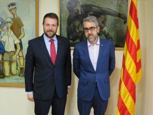 Reunió amb la Direcció General de Pesca i Afers Marítims