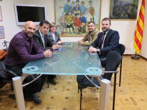 Em reuneixo amb Gestiona, l'Associació Catalana de Gestors d'Equipaments Esportius Públics