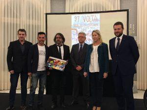 Presentació de la 97a Volta Ciclista a Catalunya