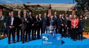 Presentat el Barcelona Open Banc Sabadell 2017 de tennis, amb la confirmació de 7 jugadors entre els 20 primers del rànquing mundial
