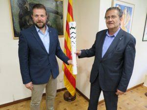 L'empresa catalana Recam Làser cedeix al Museu Colet un exemplar de la torxa olímpica dels Jocs de Rio