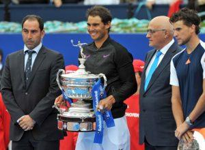 Rafael Nadal guanya per desena vegada l'Open Banc Sabadell-Trofeu Conde de Godó de tennis