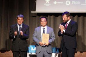 El president del RCD Espanyol, Chen Yansheng, escollit Perico de l'any 2016