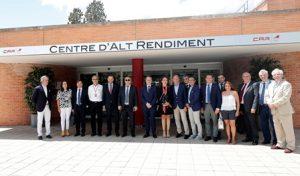 El CAR de Sant Cugat acull la reunió del comitè executiu del Comitè Olímpic Espanyol