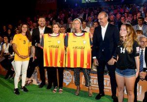 La consellera Munté expressa el total suport del Govern a la promoció de l'esport femení