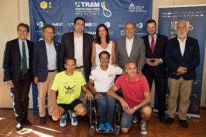 Presentat el primer torneig internacional TRAM Barcelona Open-Fundació Johan Cruyff de tennis en cadira de rodes