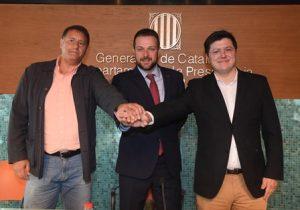 Presentat al Museu Colet l'acord de difusió televisiva entre La Xarxa i la Federació Catalana d'Handbol per emetre partits de la Divisió d'Honor Plata femenina i la Primera Divisió Estatal Masculina
