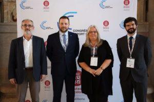 Primera jornada del Congrés Esport Local, organitzat per la Diputació de Barcelona