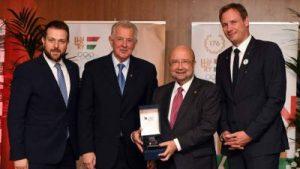El Comitè Olímpic Hongarès celebra els 25 anys de la seva participació en els Jocs de Barcelona'92