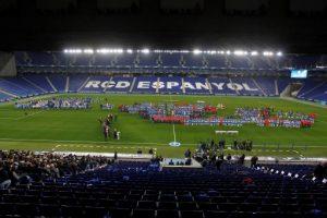El RCD Espanyol presenta els equips del futbol base, femení i social