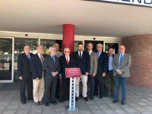 La Comisión de Arbitraje Deportivo del Comitè Olímpic Espanyol visita el CAR de Sant Cugat