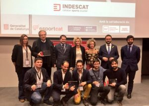 RunOpinion, Skitude, FirstVision i un partenariat format per Paited Apps i la Federació Catalana de Bàsquet guanyen els V Premis Empresa i Esport