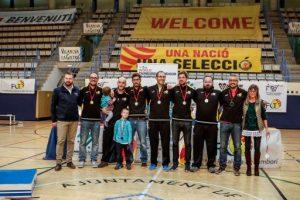 Un bronze i un setè lloc per a Catalunya en el Mundial de tamborí indoor disputat a casa