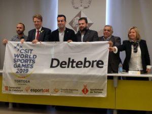 Amposta, Deltebre, Gandesa, la Ràpita i Móra d'Ebre es constitueixen com a subseus dels CSIT World Sports Games Tortosa 2019