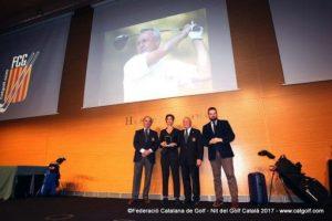 La Nit del Golf català premia els campions del 2017 i homenatja Johan Cruyff