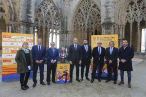La III Supercopa de Catalunya de futbol es presenta a la Seu Vella de Lleida