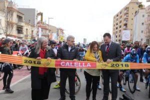 El colombià Álvaro Hodeg guanya l'etapa a Calella i és el primer líder de la 98a 'Volta' Ciclista a Catalunya