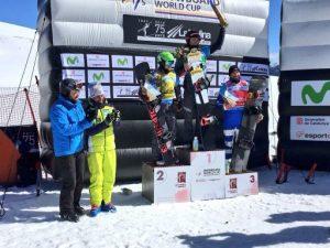 La Copa del Món FIS de snowboard cross es reprèn amb èxit a La Molina