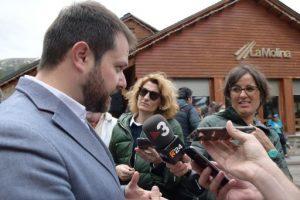 El Govern de la Generalitat continua ferm en el compromís amb la Candidatura Olímpica d'Hivern Pirineus-Barcelona