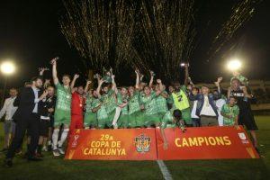 El Cornellà guanya la seva primera Copa Catalunya Absoluta de futbol
