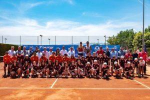 Victòria de Kathinka Von Deichmann en el 3r Torneig Internacional de Tennis Femení de la Bisbal d'Empordà