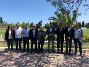 Govern, Federació Catalana d'Esports d'Hivern i estacions d'esquí preparen el calendari de grans competicions internacionals a Catalunya