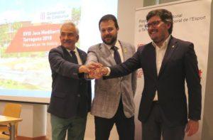 Detallem el compromís de la Generalitat amb els Jocs Mediterranis Tarragona 2018 i destaca la construcció del Palau d'Esports Catalunya