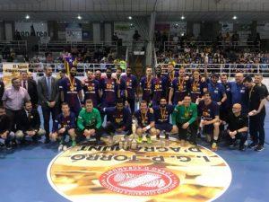 El FC Barcelona Lassa s'adjudica la Supercopa de Catalunya masculina d'handbol