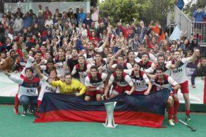 Reial Club de Polo, en nois, i Reial Societat , en noies, guanyen la lliga estatal de hockey a Barcelona