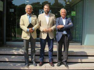 Em reuneixo amb el president de la Federació Catalana de Golf