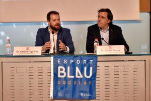 Presentem a Barcelona el programa Esport Blau Escolar