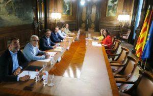 Em reuneixo amb la presidenta del CSD, María José Rienda