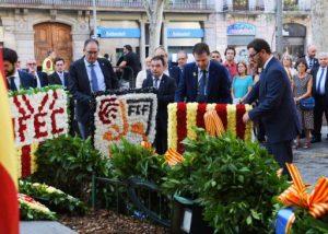 La Secretaria General de l'Esport participa en la celebració de la Diada Nacional de Catalunya